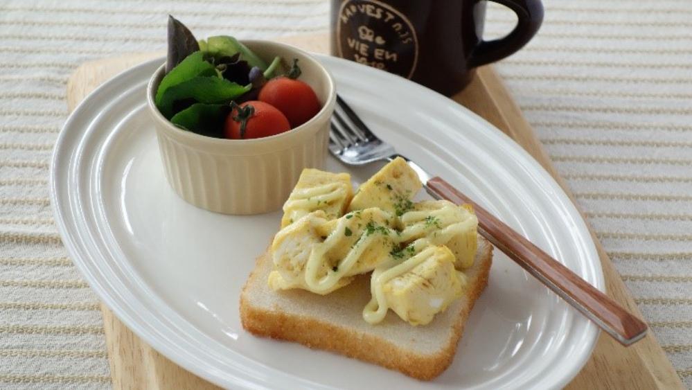 2卵トースト